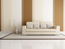 Elegant living room stock photography