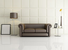 Elegant living room Royalty Free Stock Image