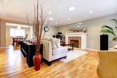 Elegant living room interior Stock Photo
