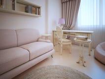 Free Elegant Living Shabby-chic Style Royalty Free Stock Images - 61235059