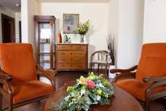 Elegant livingroom Stock Photography
