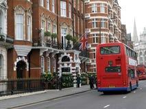 Elegant London Hotel Royalty Free Stock Photos