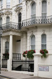 Elegant London Townhouses Stock Images