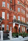 Elegant London Townhouses Royalty Free Stock Photography