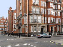 Elegant London Townhouses Royalty Free Stock Image