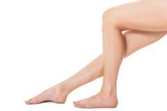 Elegant long bare female legs Royalty Free Stock Photo