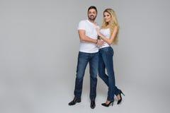 Elegant lovely couple Stock Photography