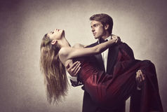 Elegant Lovers Royalty Free Stock Images