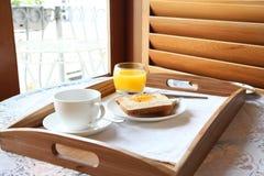 Elegant luxury breakfast Stock Photography