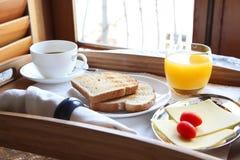 Elegant luxury breakfast Royalty Free Stock Images