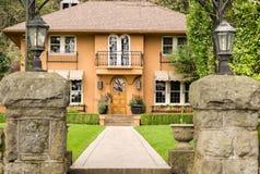 Elegant luxury home Stock Photo
