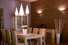 Elegant and luxury living room interior design. Stock Photo