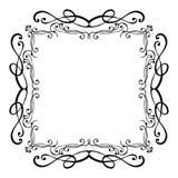 Elegant luxury vintage calligraphy frame. stock images