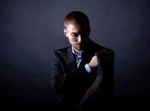 Elegant male Stock Photos