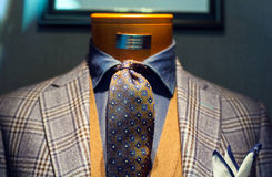 Elegant male suit Stock Image