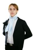Elegant man. Elegant young man in the medieval clothes Royalty Free Stock Photos