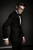 Elegant man Stock Images