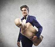 Elegant Man stock photos