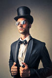 Elegant man Stock Image