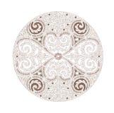 Elegant mandala Stock Image