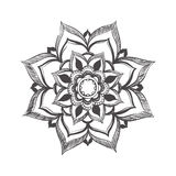 Elegant mandala pattern Stock Photography