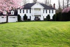 Elegant mansion Stock Photography