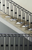 Back staircase New York City townhouse Stock Photo