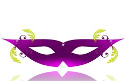 elegant maskering för karneval Royaltyfri Fotografi