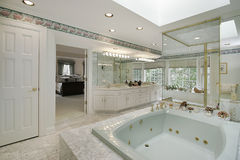 Elegant master bath Stock Photography