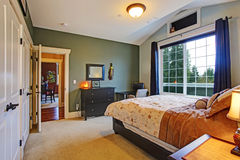 Elegant master bedroom interior Royalty Free Stock Photo