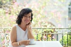 Elegant mature woman Royalty Free Stock Image