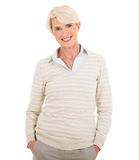 Elegant mature woman Royalty Free Stock Photography