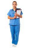 Elegant medical professional in uniform Stock Photos