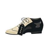 Elegant men's  shoes. Royalty Free Stock Photos
