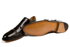 Elegant mens shoes Royalty Free Stock Photos
