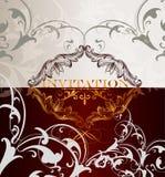 Elegant  menu design Royalty Free Stock Photos