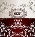 Elegant  menu design Royalty Free Stock Photo