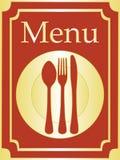 elegant meny för bakgrund stock illustrationer
