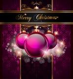 Elegant Merry Christmas Background Stock Photos