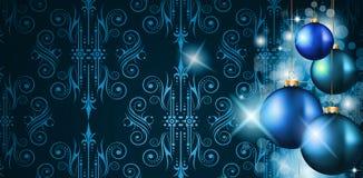 Elegant Merry Christmas background Stock Image