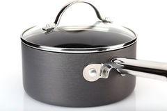 Elegant metal pot Royalty Free Stock Photography