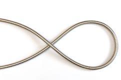 elegant metallslangkurva Royaltyfri Fotografi