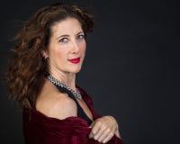 Elegant Middle Aged Woman stock photos