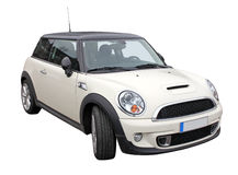 Elegant mini car Royalty Free Stock Photo