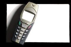 Elegant mobil telefon Arkivbilder