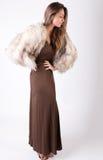 Elegant modell Royaltyfria Bilder