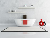 Elegant modern bathroom Stock Image