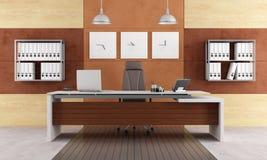 Elegant modern bureau Royalty-vrije Stock Afbeelding