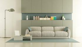Elegant modern living room Stock Photography