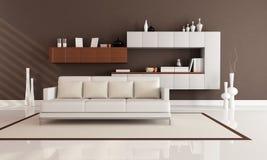 Elegant modern lounge Royalty Free Stock Photos